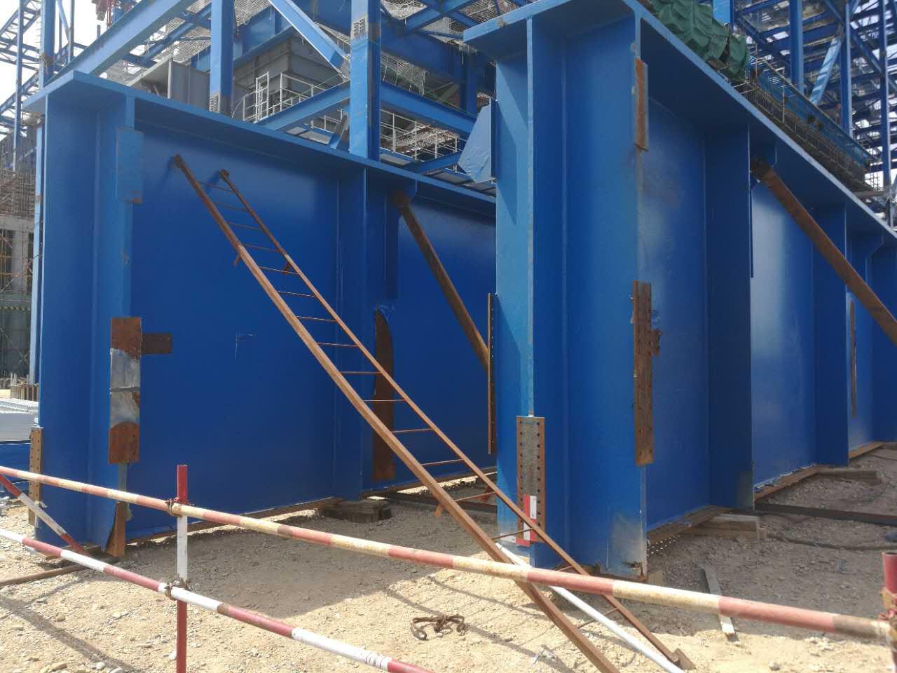 东方希望4x660MW锅炉大板梁