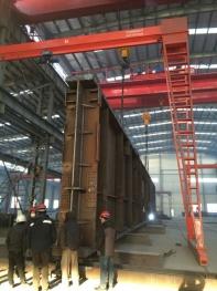 大同朔南2x350MW超临界锅炉 大板梁移位