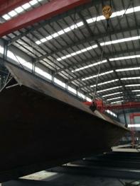 大同朔南2x350MW超临界锅炉 大板梁翻转