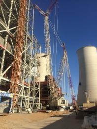 朝阳2350MW脱销工程钢结构